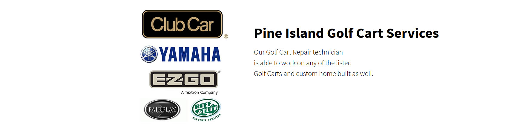 Pine Island Golf Carts sales rentals and repairs